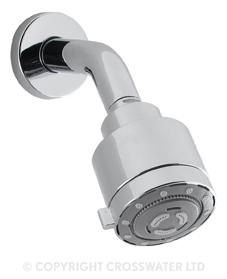 Crosswater Reflex Shower Head Four Mode & Arm LP FH632C