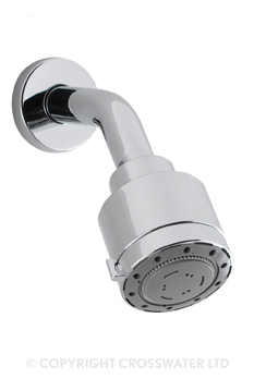 Crosswater Reflex Shower Head Four Mode & Arm HP FH633C
