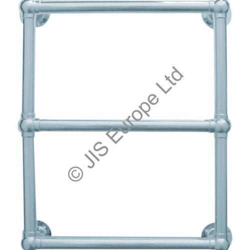 JIS Fletching 635 Stainless Steel Heated Towel Rail