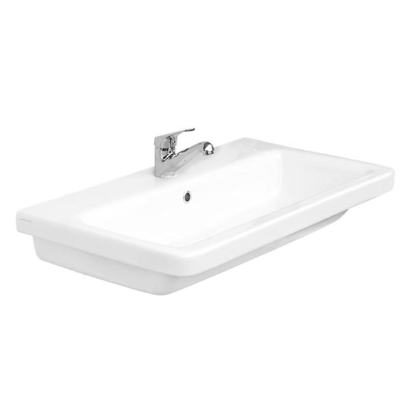 Saneux Indigo 80 x 45cm washbasin with 1 tap hole 70002