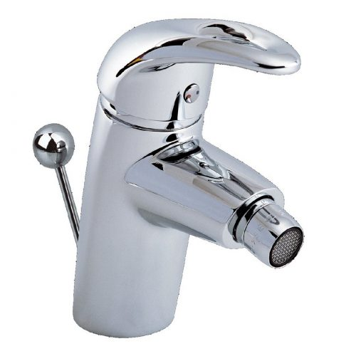 Just Taps Plus Gio Single Lever Bidet Mixer+PUW G110