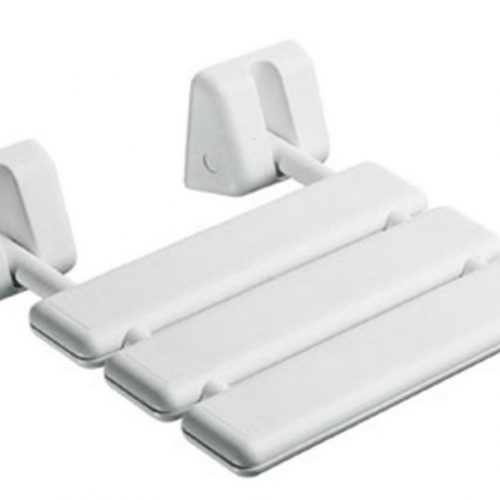 Gedy Italian Folding Shower Seat In White 2283-02-0