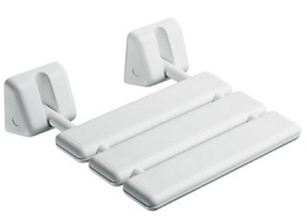 Gedy Italian Folding Shower Seat In White 2283-02-0