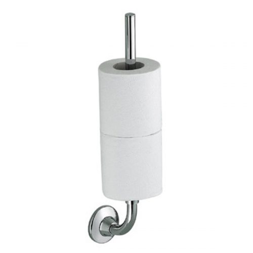 Gedy Ascot double spare roll holder in chrome 2724/03-13