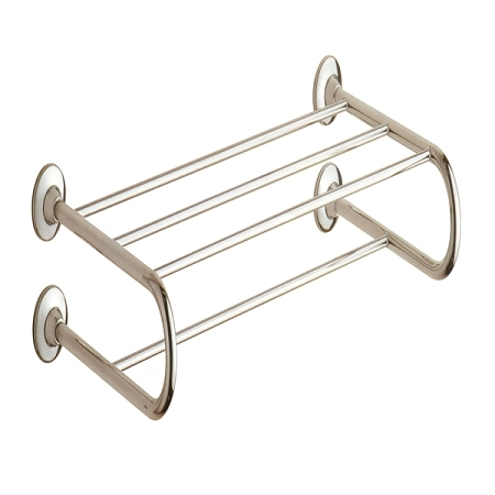 Gedy Ascot Hotel Double Towel Rack in Chrome 2435-13-0