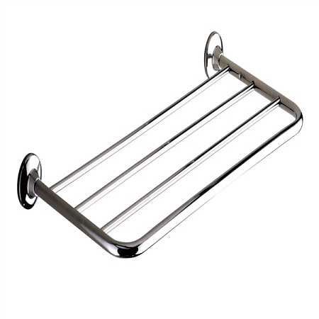 Gedy Ascot Bathroom Towel Rack Hotel Style Chrome 2744-13-0