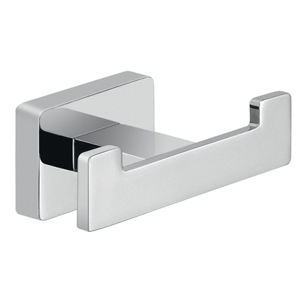 Gedy Atena Modern Looking Double Bathroom Robe Hook 4426-13-0