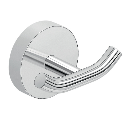 Gedy Eros Modern Wall Mounted Double Robe Hook 2326-13-0
