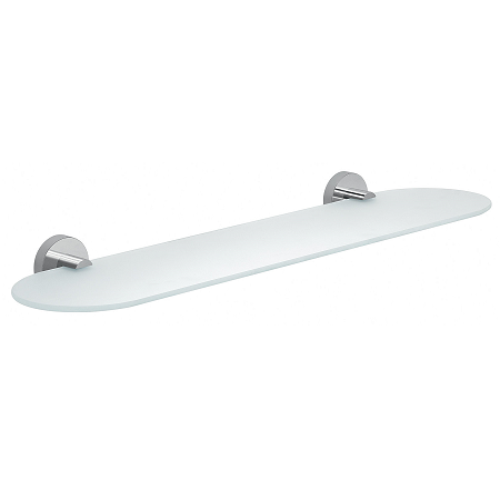 Gedy Eros Modern Wall Mounted Glass Shelf 2319/60-13-0