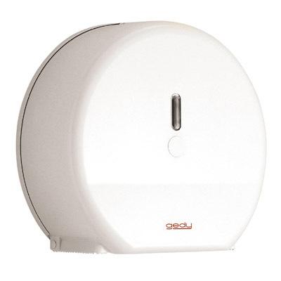 Gedy Hotellerie Maxi Jumbo Roll Dispenser White 2429-02-0
