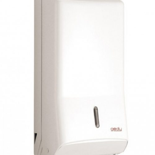 Gedy Hotellerie White Bathroom Paper Dispenser 2427-02