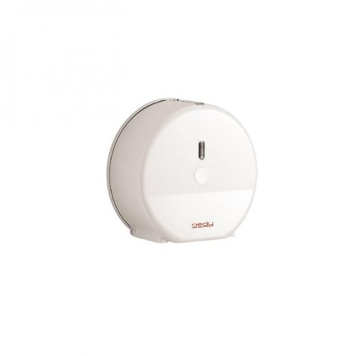 Gedy Mini Jumbo Toilet Rollpaper Dispenser White 2428-02-0