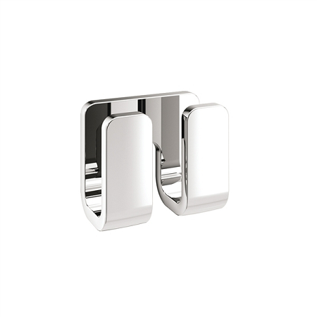 Gedy Outline Double Modern Bathroom Robe Hook 3228-13-0