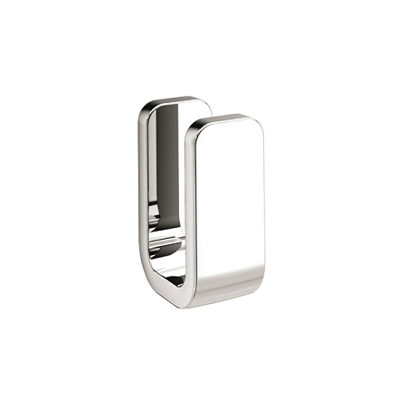 Gedy Outline Modern Single Robe Hook in chrome 3226-13-0