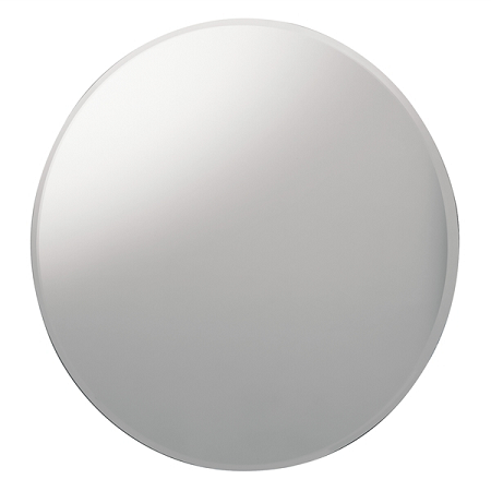 Gedy Oval Bevelled Wall Mounted Edge Bathroom Mirror 2585-0