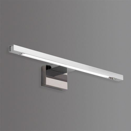 Gedy Sirio Sleek Bathroom Wall Lamp in Chrome