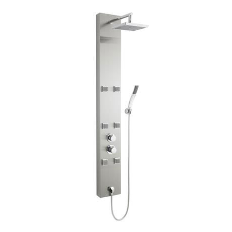 Premier Easton Stainless Steel Thermo Shower Panel AS374