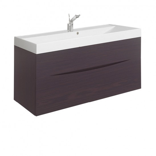 Bauhaus Glide II basin unit 1000 Wenge GL1000DWN