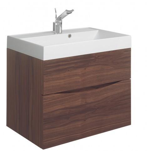 Bauhaus Glide II basin unit 700 American Walnut GL7000DAW