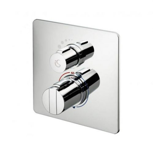 GRB Built-in therm. diverter-chrome