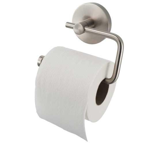 Stock Aqualux Pro2500 Matt Stainless Steel Toilet Roll Holder