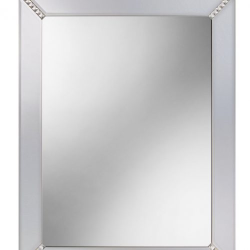 Harmony 65cm x 80cm Mirror with decorative crystals B004839