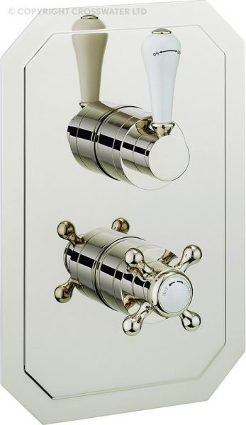 Crosswater Belgravia Nickel Shower Valve HG1500RN_LV