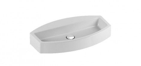 Saneux MONTY 70 x 40cm sit-on bathroom basin sink 7589