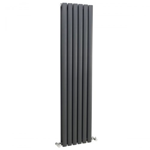 Hudson Reed Anthracite Revive Double Panel Radiator HLA76