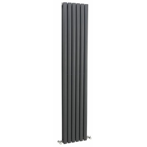 Hudson Reed Anthracite Revive Double Panel Radiator HLA77