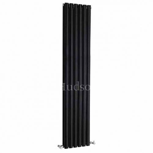 Hudson Reed High Gloss Black Double Panel Radiator HLB77