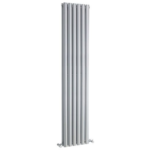 Hudson Reed Silver Revive Double Panel Radiator HLS87