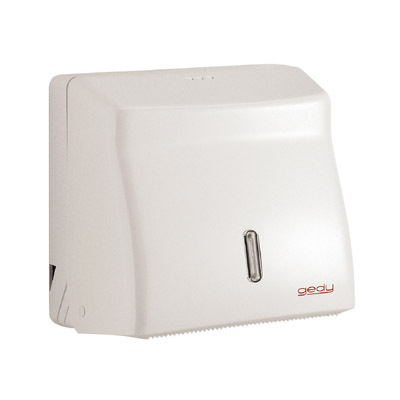 Hotellerie White Bathroom Toilet Paper Dispenser 2426-02