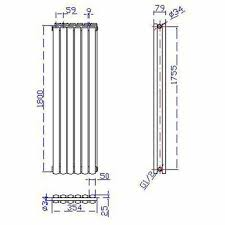 Hudson Reed Revive Double Panel Radiator 1800x354 HRE003