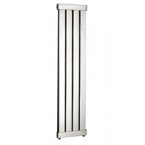JIS Arun 1460 x 360 Shiny Chrome Heated Towel Rail