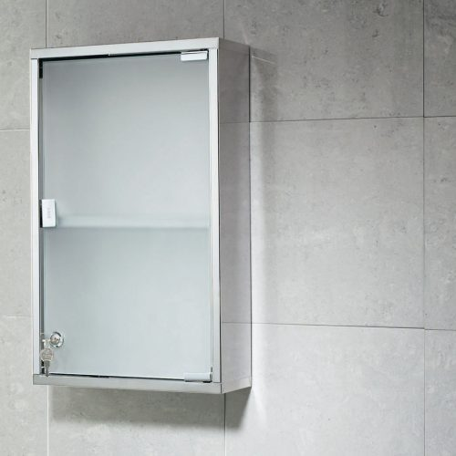 Gedy Frosted Bathroom Medicine Cabinet Rectangular JO07
