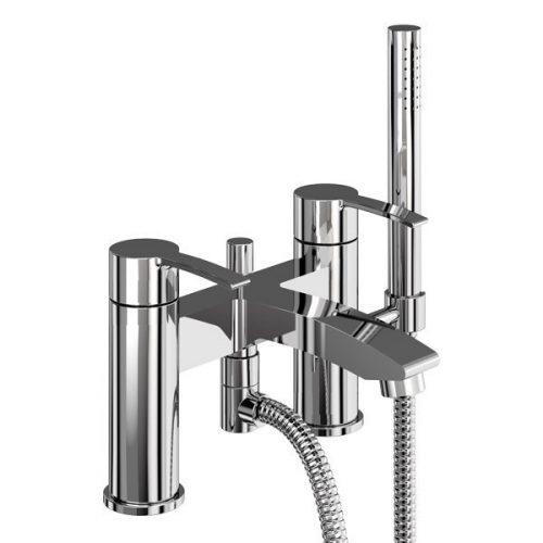 Clearwater Sapphire Chrome Bath Shower Mixer 125.CTA16