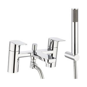Crosswater Kelly Hoppen KH ZERO 6 Bath Shower Mixer Tap