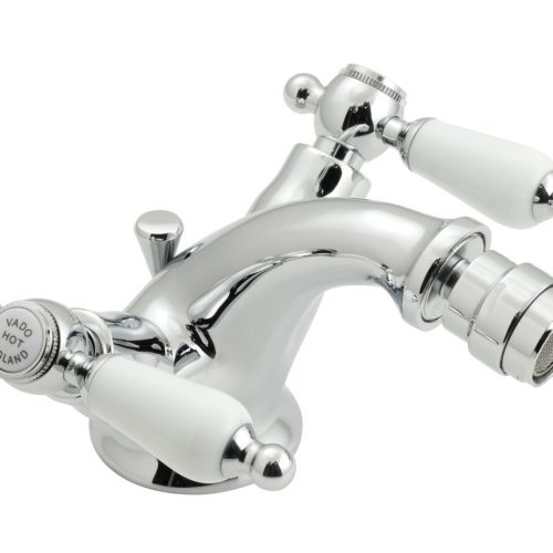 Vado Kensington mono bidet mixer in chrome KEN-110/CD-C/P