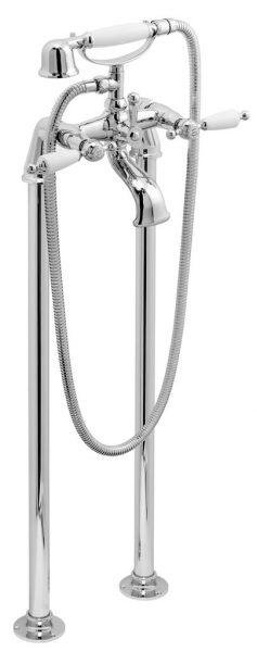 Vado Kensington bath shower mixer with shower kit