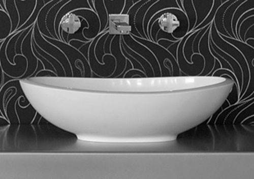 BC Designs Thinn Kurv 615mm x 360mm Contemporary Basin