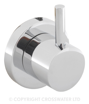 Crosswater Kai Lever 4 Way Diverter Wall Mounted KL0007WC