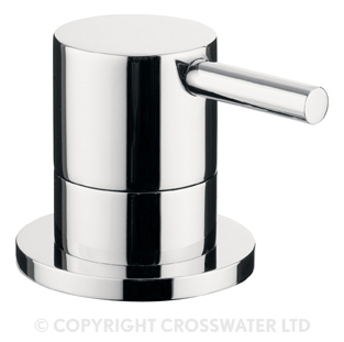 Crosswater Kai Lever 3 Way Diverter Deck Mounted KL0008DC