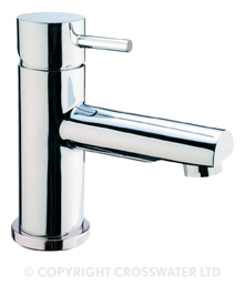 Crosswater Kai Lever Basin Monobloc With Waste KL110DPC