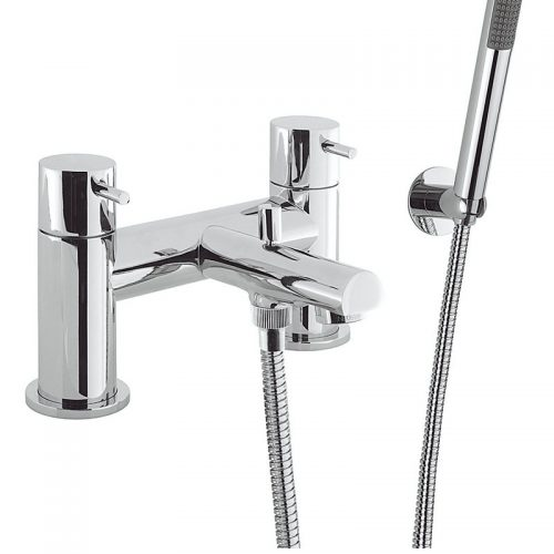 Crosswater Kai Lever Bath Shower Mixer Deck Mtd KL422DC