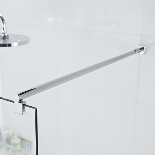 LBBK4590 Roman low level bracing bar for 10mm and 8mm glass