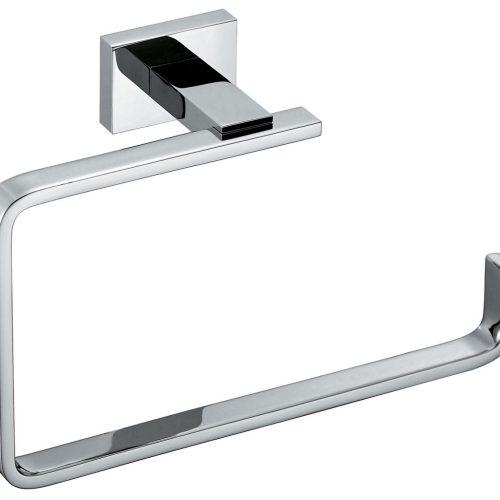 Vado Level big modern bathroom wall towel ring LEV-181-C/P