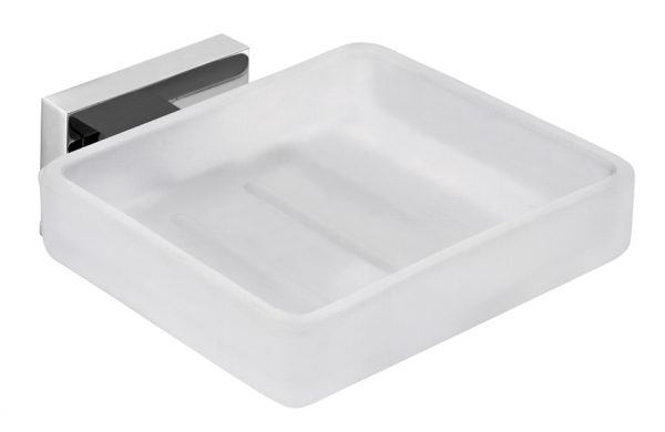 Vado Level soap dish and holder wall mounted LEV-182-C/P
