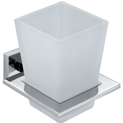 Vado Level tumbler and holder wall mounted LEV-183-C/P