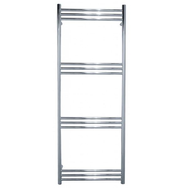 JIS Lewes Stainless Steel 1400x520mm Heated Towel Rail-0